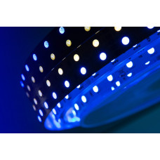 Лента светодиодная LUX SMD 5050 120 led/28,8w на метр 24V IP33 RGB+4200К 5000×19×2мм SWG