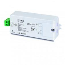 Приемник-контроллер RX-MINI для монохромной светодиодной ленты 12-36В/1*8А 868Mhz