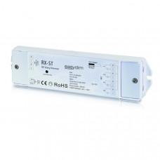 Универсальный приемник-контроллер RX-ST для светодиодных лент RGB, RGB+W, MIX 12-36В/4*5А 868Mhz