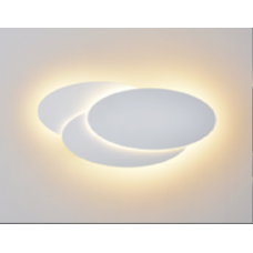 Настенный светильник  Черный 12Вт 3000 20 GW-6809R-12-BL-WW