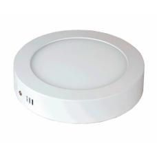 Светильник светодиодный накладной NRLP-eco 18Вт, 1260Лм, 4000К, D225х13мм, LLT