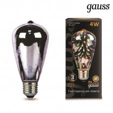 Лампа Gauss LED 3D-Butterfly E27 4W
