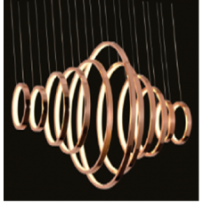 Люстра подвесная декоративная Spring Хром 67 3000 AD14036-11A-CH