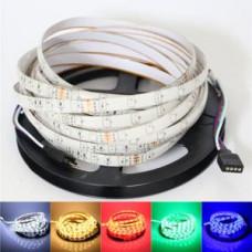 Лента светодиодная стандарт (IP68) SMD 5050, 60 LED/м, 14,4 Вт/м, 12В. Цвет: RGB SWG