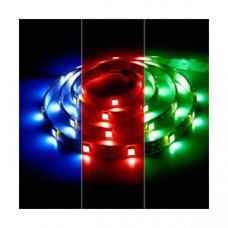 Лента светодиодная стандарт (IP20) SMD5050 - 30led/7,2Вт на метр 12В RGB мультицветная SWG