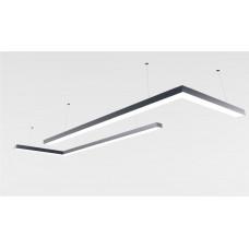 Светильник из профиля  Simple1-7477-WW (3000 К Теплый белый.155вт.IP20.10850лм)
