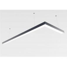 Светильник из профиля  Simple1.1-7477-WW (4000 К Нейтральный белый.77.5вт.IP20.5425лм)