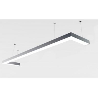 Светильник из профиля Simple2.1-7477-NW (4000 К Нейтральный белый.77.5вт.IP20.5425лм)