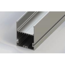СПП5070 светодиодный профиль подвесной, алюминиевый, анодированный 2000х50х70мм