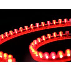 Лента светодиодная  DIP 2835, 96 LED/м, 7,7 Вт/м, 12В , IP68, Цвет: Красный