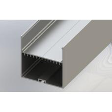 СПП7070 светодиодный профиль подвесной, алюминиевый, анодированный 2000х70х70мм