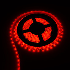Лента светодиодная стандарт (IP20) SMD 5050, 60 LED/м, 14,4 Вт/м, 12В, красный SWG