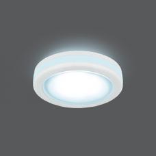 Светильник Gauss Backlight BL099 Кругл. Белый, 5W, LED 4000K