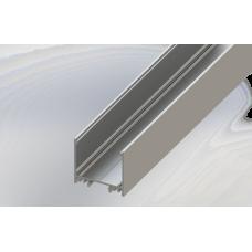 СПС3532 светодиодный профиль накладной алюминиевый, анодированный 2000х35х32мм