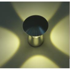 Бра декоративное MUSH Серебро 4Вт 3000 20 GW-M201-4-4-SL-WW