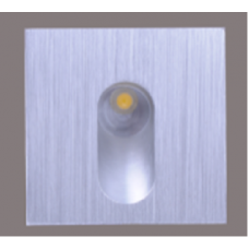 Бра встраиваемое для подсветки лестницы/пола FLOOR S Черный 1Вт 4500 20 GW-S612-1-BL-NW