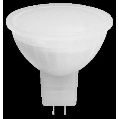 Светодиодная лампа MR16-5W-230-4000K-GU5,3-400лм дневная белая SWEKO