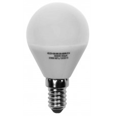 Светодиодная лампа ШАР G45-7W-230-4000K-E14-600лм дневная белая SWEKO
