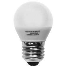 Светодиодная лампа ШАР G45-5W-230-4000K-E27-410лм дневная белая SWEKO