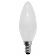 Светодиодная лампа СВЕЧА C35-7W-230-4000K-E14-600лм дневная белая SWEKO