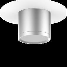 LED светильник накладной с рассеивателем HD021 10W (хром сатин) 3000K 88х75мм