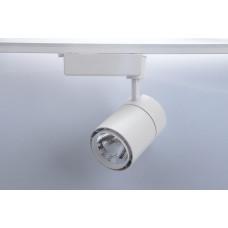 Трековый светодиодный светильник TL58,  30Вт, 4000К, 2300Лм, 24°, φ95*H195 белый