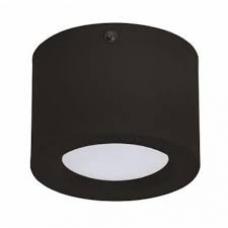 Светильник накладной алюм. (бочонок) 5W 4200К  IP20  Черный HOROZ