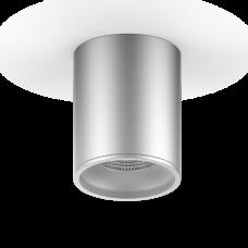 LED светильник накладной HD003 12W (хром сатин) 3000K 79x100мм