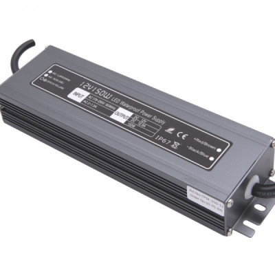 Блок питания ультратонкий IP67 MINI Al TPW, 150 W 12 V SWG