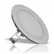 Ультратонкий встраиваемый LED светильник круглый PL-R170-12-WW 12 Вт белый 2700K