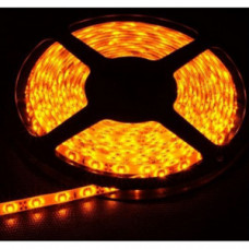 Лента светодиодная (IP65) SMD3528 - 60led/4,8Вт на метр 12В желтая ULS