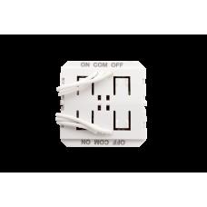 Радио передатчик W-TX2, 2 зоны, для установки за выключателями других производителей