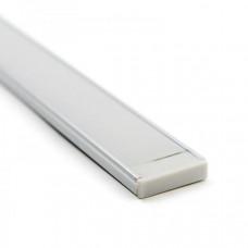 Профиль алюминиевый накладной SF-4411 для широких лент до 36 мм 2м (комплект)