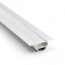 Профиль алюминиевый угловой накладной/ встраиваемый  RC - 1030 2000х30х10 (комплект)