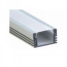 Профиль алюминиевый накладной SF - 1612 2000х16х12 (комплект)