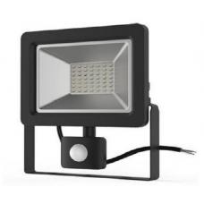 Прожектор с датчиком движения Gauss el 30Вт 2100lm IP65 6500K