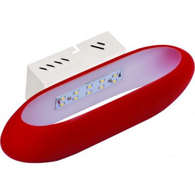 Светильник светолдиодный настенный HL855L - 5Вт, 4000К, Красный, Horoz El