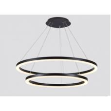 Люстра светодиодная P0092002A-BL-WW Черный 50Вт 3000