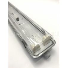 Светильник влагозащищенный без лампы CСП-456 2х18Вт 160-260В Т8R/G13 IP65 1200мм