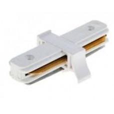 Коннектор соединительный прямой трехфазный белый