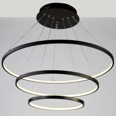 Подвесной светильник Favourite Giro 1764-18P черный,LEDx1*146W