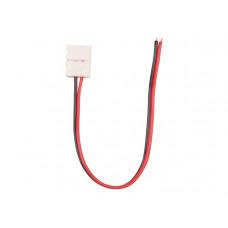 Коннектор с защёлками для одноцветных светодиодных лент шириной 8мм