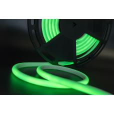 Термолента светодиодная SMD 2835, 180 LED/м, 12 Вт/м, 24В , IP68, Цвет: Зеленый