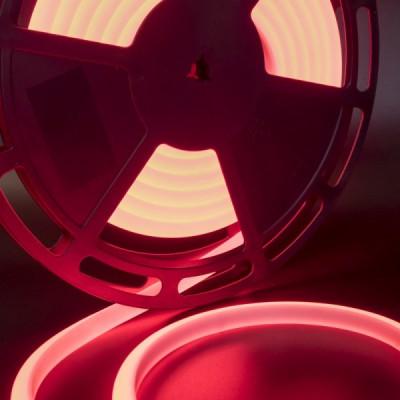 Термолента светодиодная SMD 2835, 180 LED/м, 12 Вт/м, 24В , IP68, Цвет: Красный