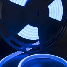 Термолента светодиодная SMD 2835, 180 LED/м, 12 Вт/м, 24В , IP68, Цвет: Синий