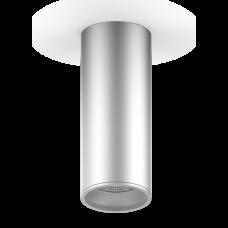 LED светильник накладной HD005 12W (хром сатин) 3000K 79x200мм