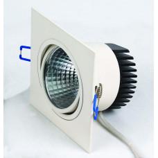 Светодиодный встраиваемый поворотный светильник  HL6711L 10W 6500К Белый