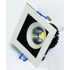 Светодиодный встраиваемый светильник  HL6721L 8W 6500К