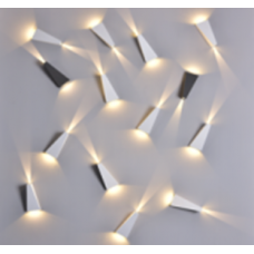 Бра декоративное  Белый 6Вт 3000  GW-A807-6-WH-WW