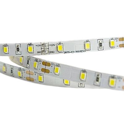 Лента светодиодная стандарт (IP20) SMD2835 - 60led/4,8Вт на метр 12В 6500К холодная белая SWG
